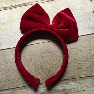 Accessories - Red velvet headband